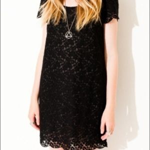 Talula Fleetwood Dress Black Lace Overlay